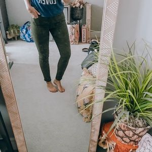 Olive old navy pants
